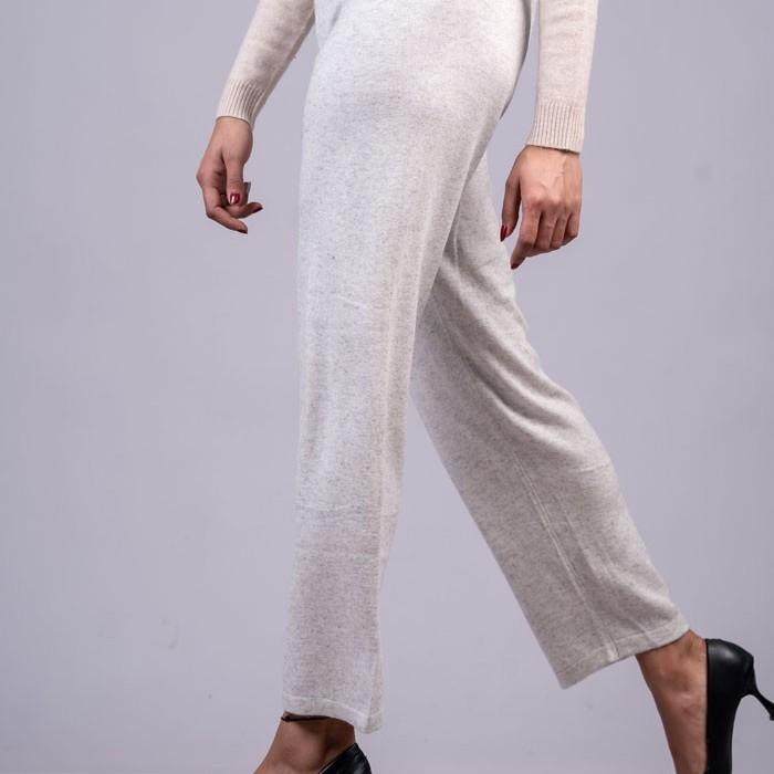 100% Pure Cashmere Ladies Trouser